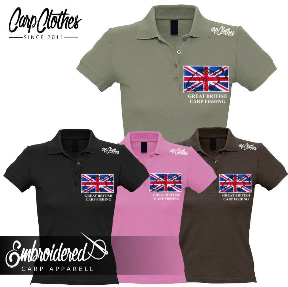 002 LADIES EMBROIDERED POLO